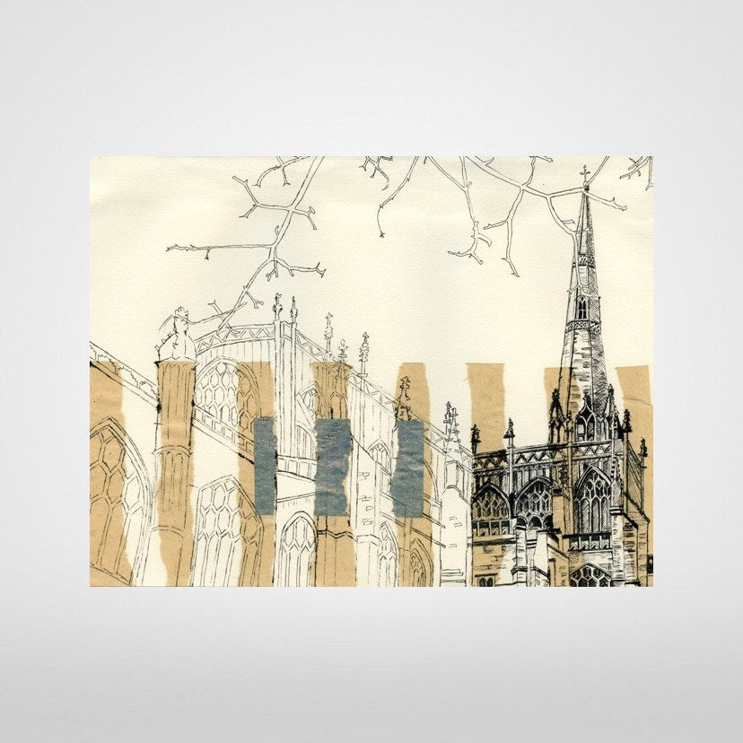 St Mary Redcliffe Bristol Print by Lisa Malyon at The Bristol Shop