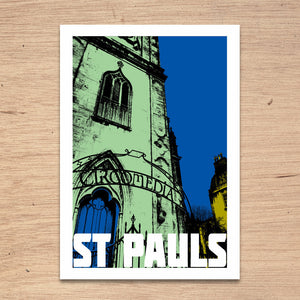 St Pauls Bristol, A4 Print by Susan Taylor Art | The Bristol Shop
