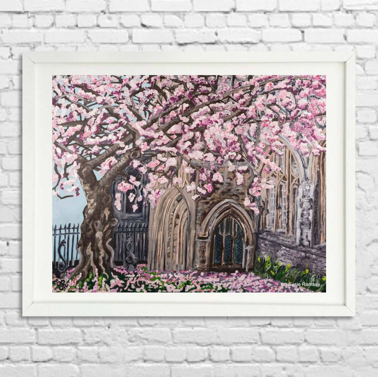 St Stephen's Church Limited Edition Giclée Print by Susie Ramsay | The Bristol Shop
