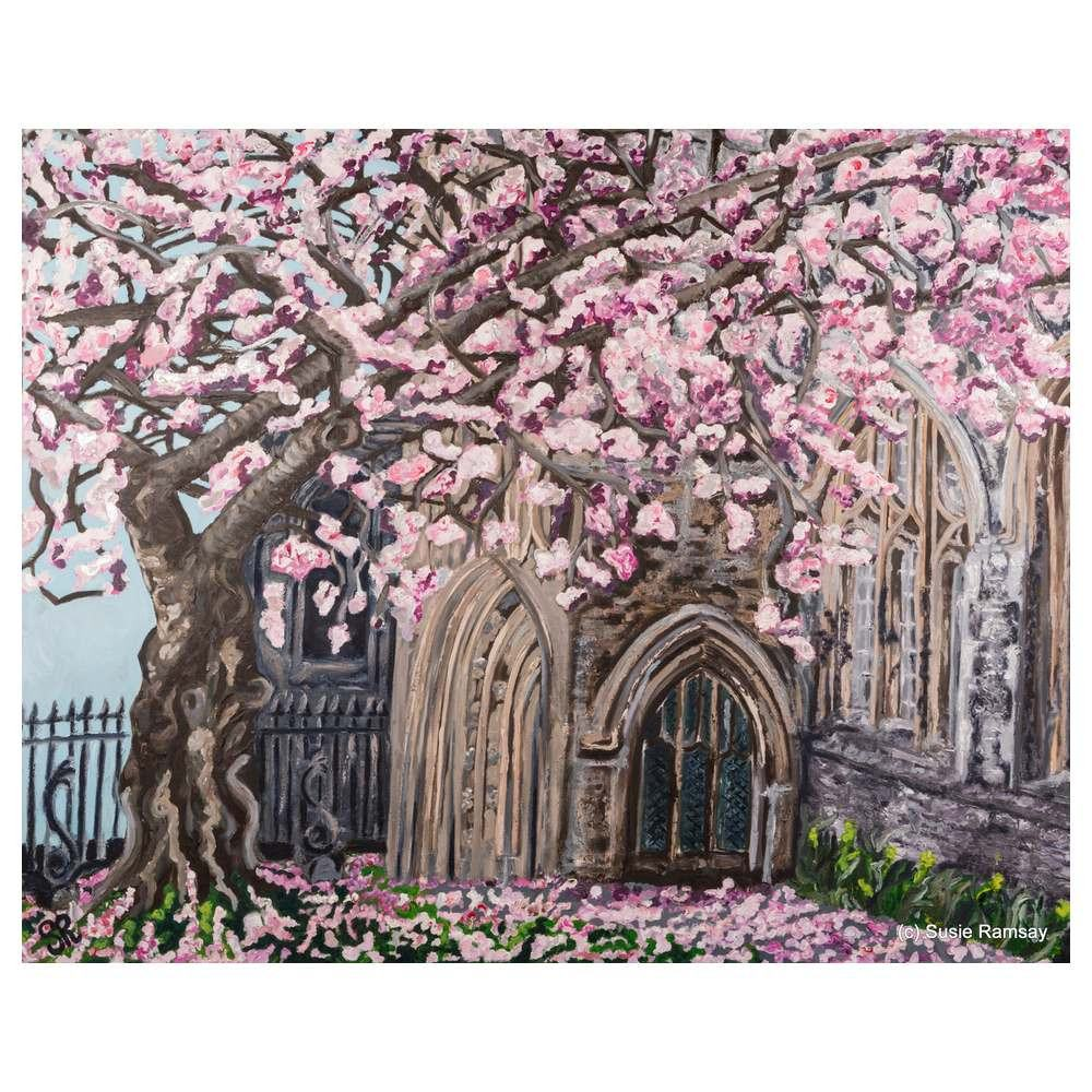 St Stephen's Church Greetings Card by Susie Ramsay | The Bristol Shop