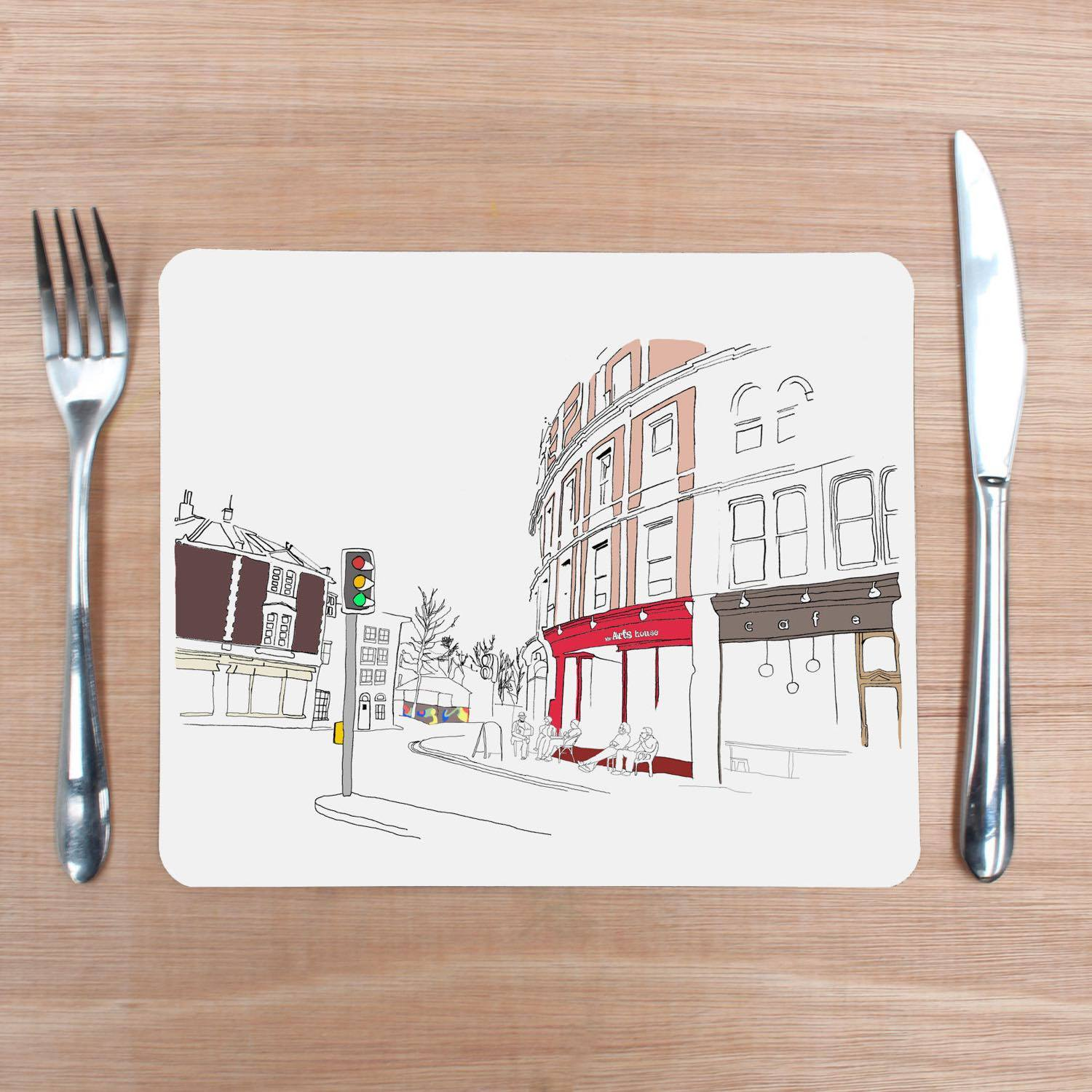 Stokes Croft, Bristol Placemat by Rolfe & Wills | The Bristol Shop