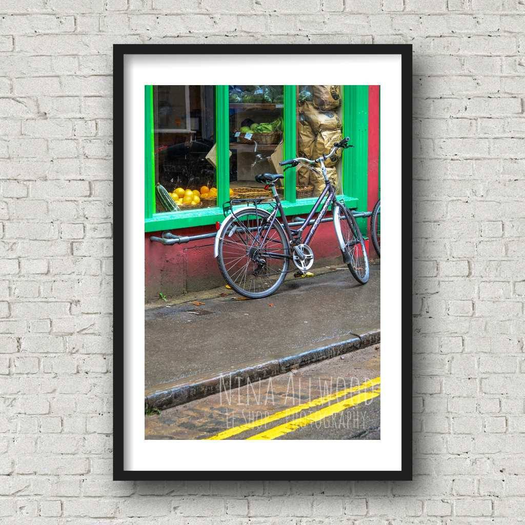 The Bicycle - Photographic Print by Nina Allwood | The Bristol Shop