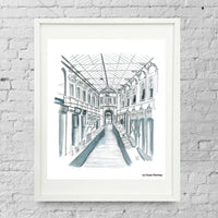 The Glass Arcade Limited Edition Giclée Print by Susie Ramsay | The Bristol Shop