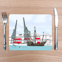 The Matthew Placemat by Rolfe & Wills | The Bristol Shop