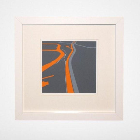 The New Cut, Bristol, Map illustration Giclée Print by Anna Francis