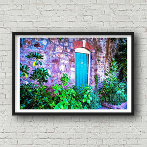 The Prettiest Door, Clifton Village - Photographic Print by Nina Allwood | The Bristol Shop