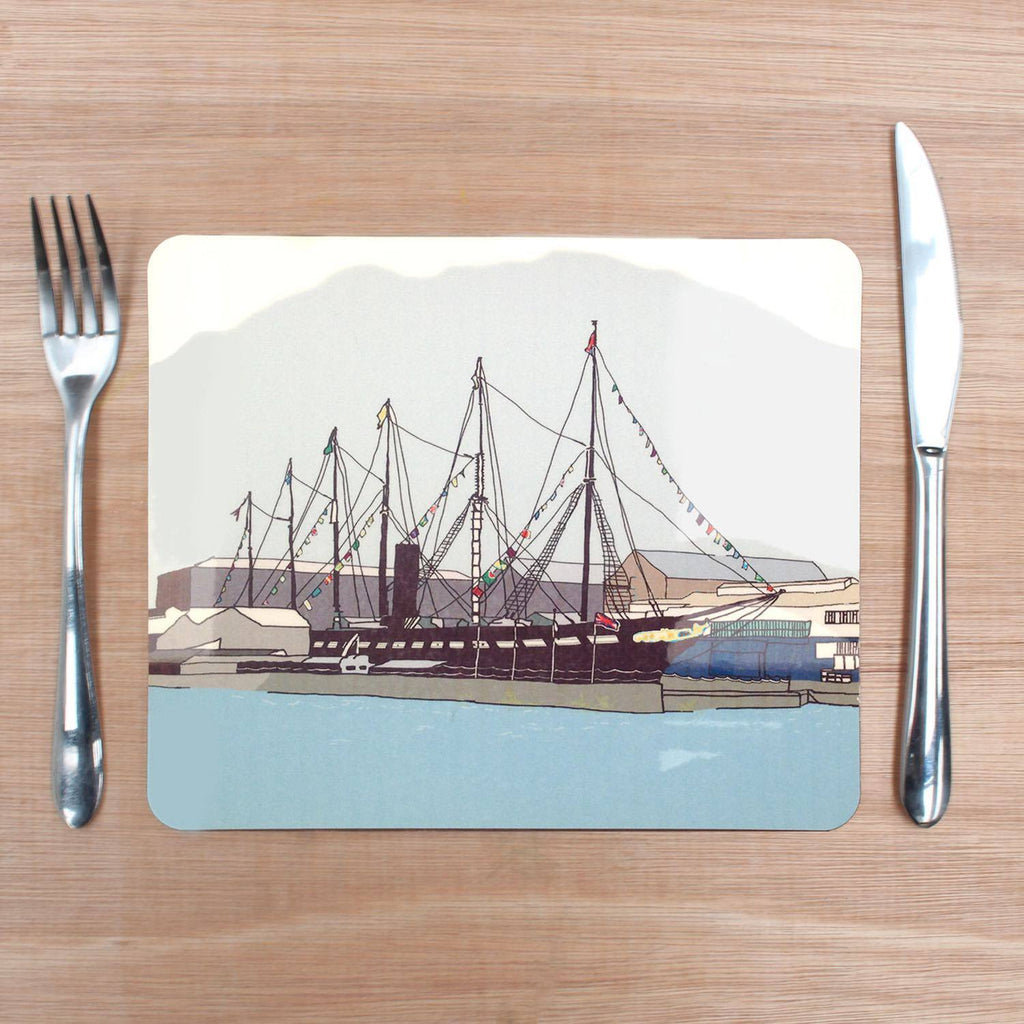 ss Great Britain Placemat by Rolfe & Wills | The Bristol Shop