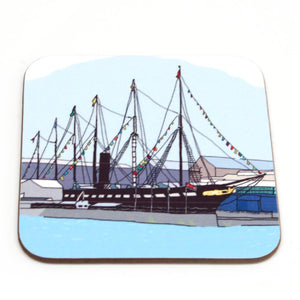 ss Great Britain Coaster by Rolfe & Wills | The Bristol Shop