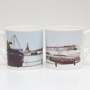 The Thekla Bone China Mug by Rolfe & Wills | The Bristol Shop