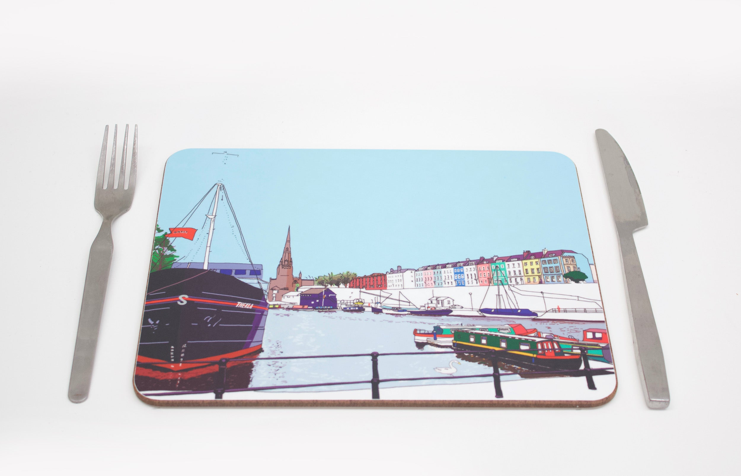 The Thekla Placemat by Rolfe & Wills | The Bristol Shop