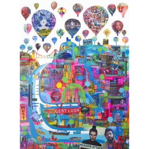 This Is Our Bristol - A2 Charity Poster by Jenny Urquhart | The Bristol Shop