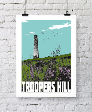 Troopers Hill Bristol A4 or A3 Print by Susan Taylor | The Bristol Shop