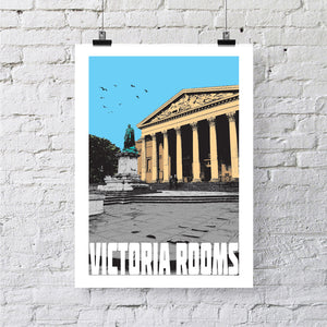 Victoria Rooms Bristol A4 or A3 Print by Susan Taylor | The Bristol Shop