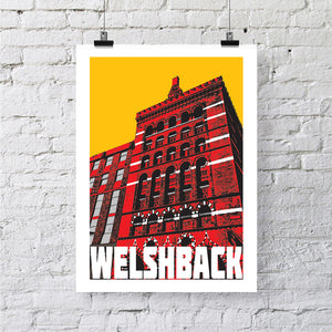 The Granary at Welshback Bristol A4 or A3 Print by Susan Taylor | The Bristol Shop