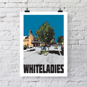Whiteladies Road Bristol A4 or A3 Print by Susan Taylor | The Bristol Shop