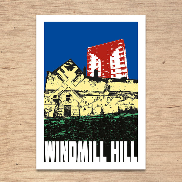 Windmill Hill Bristol A4 or A3 Print by Susan Taylor | The Bristol Shop