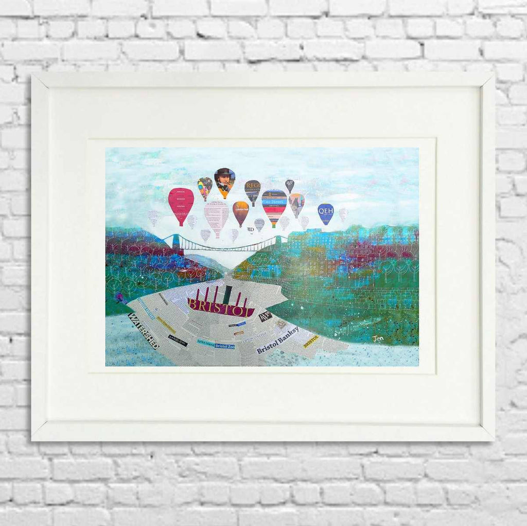 Wow! Bristol - Giclée Print by Jenny Urquhart | The Bristol Shop