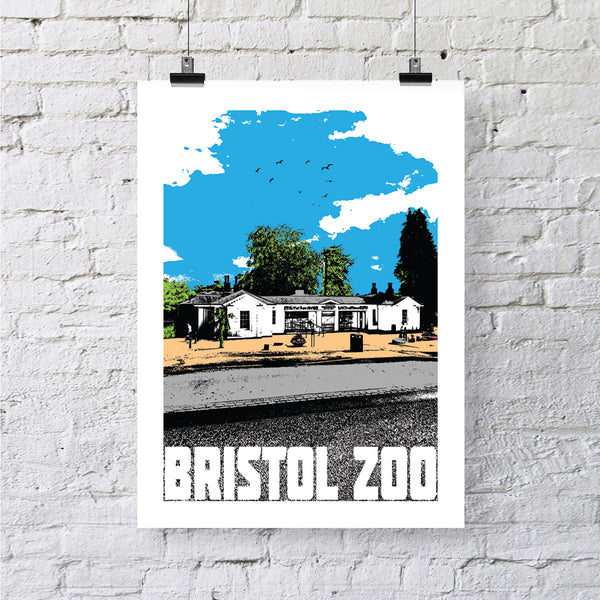 Bristol Zoo A4 or A3 Print by Susan Taylor | The Bristol Shop