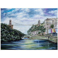 Clifton Suspension Bridge A5 - A1 Giclée Print by Lynette Bower | The Bristol Shop