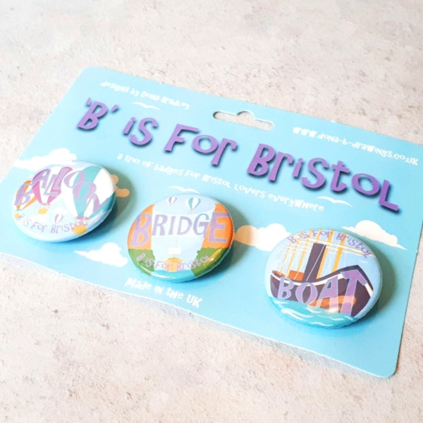 Bristol Badges - Bristol souvenirs for children