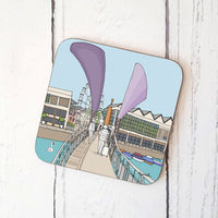 Pero's Bridge Coaster by Dona B drawings