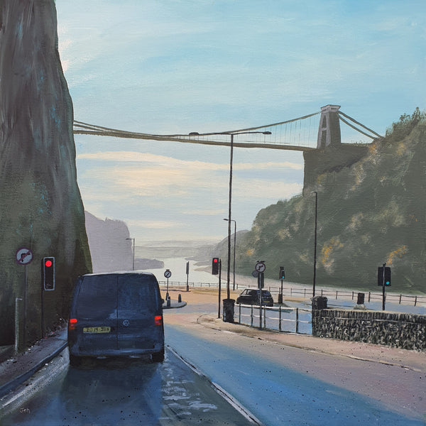 Bristol Realism Painting by Jenny Urquhart