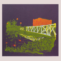 Let's Create Ashton Bridge - Hand Pulled Screen Print by Amy Hutchings | The Bristol Shop