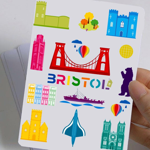 Bristol Stickers by Adriana Barrios
