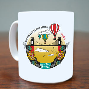 Clifton Suspension Bridge Mug by Susan Taylor | The Bristol Shop