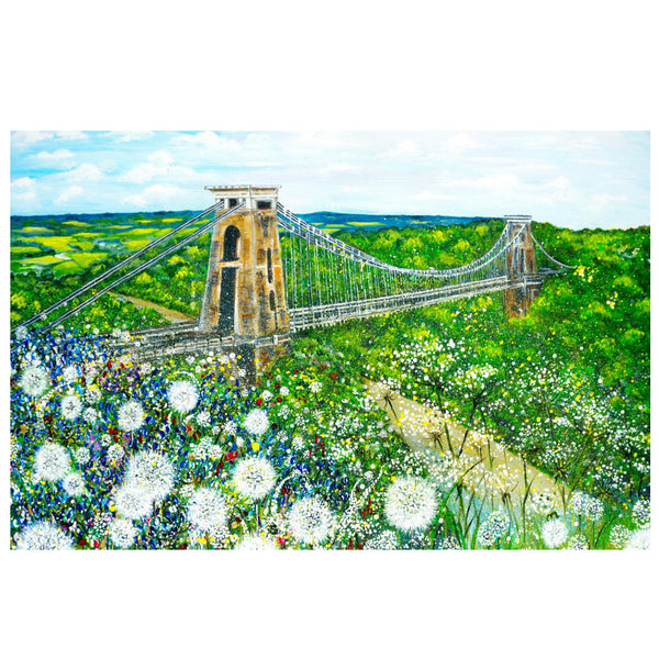 Clifton Suspension Bridge Art by Lynette Bower