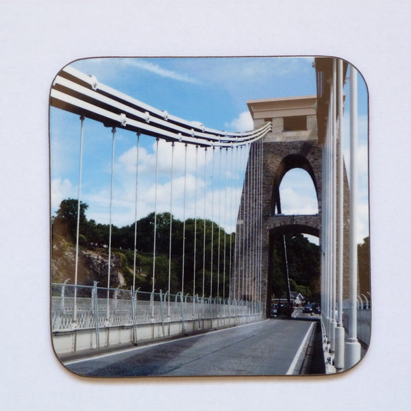 Bristol Coaster featuring a Photograph of Brunel's Clifton Suspension Bridge