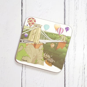 Gorgeous Bristol Coaster by Dona B drawings | The Bristol Shop