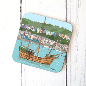 The Matthew Bristol Coaster by Dona B drawings | The Bristol Shop