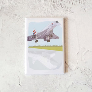 Concorde Bristol Fridge Magnet by Dona B drawings | The Bristol Shop