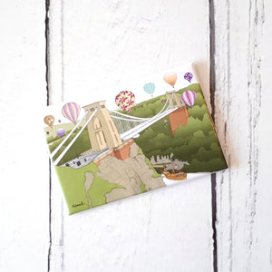 Gorgeous Bristol Fridge Magnet by Dona B drawings | The Bristol Shop