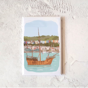 The Matthew Bristol Fridge Magnet by Dona B drawings | The Bristol Shop
