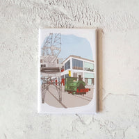 M Shed Bristol Fridge Magnet by Dona B drawings | The Bristol Shop