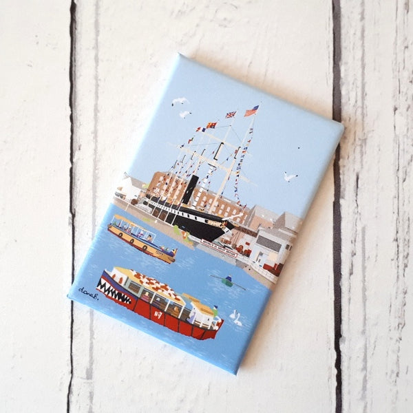 Floating Bristol Fridge Magnet by Dona B drawings | The Bristol Shop