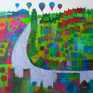 Park Street Colours - Giclée Print by Jenny Urquhart | The Bristol Shop