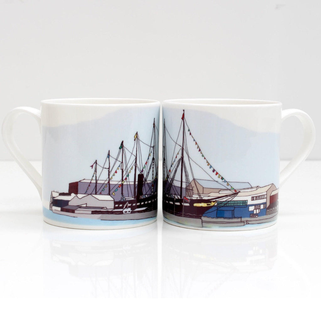 ss Great Britain Bone China Mug by Rolfe & Wills | The Bristol Shop