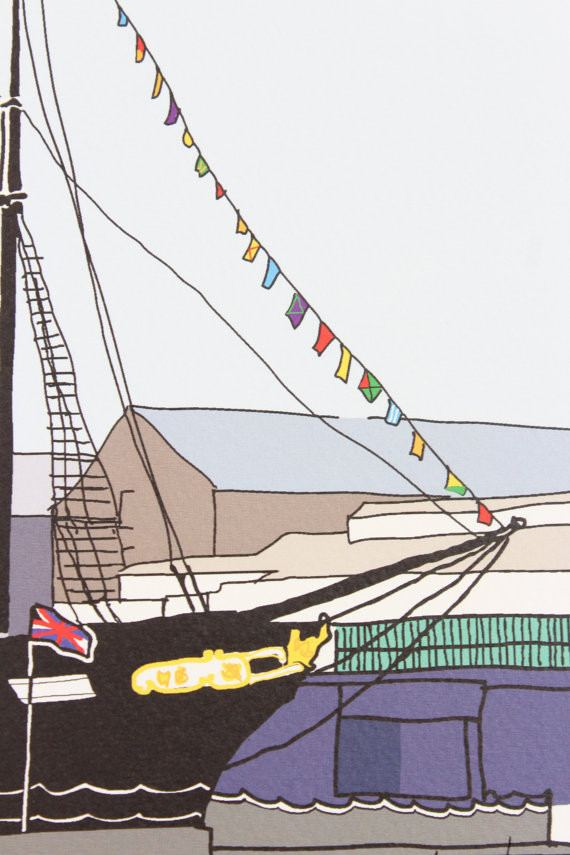ss Great Britain Digital Art Print by Rolfe & Wills The Bristol Shop