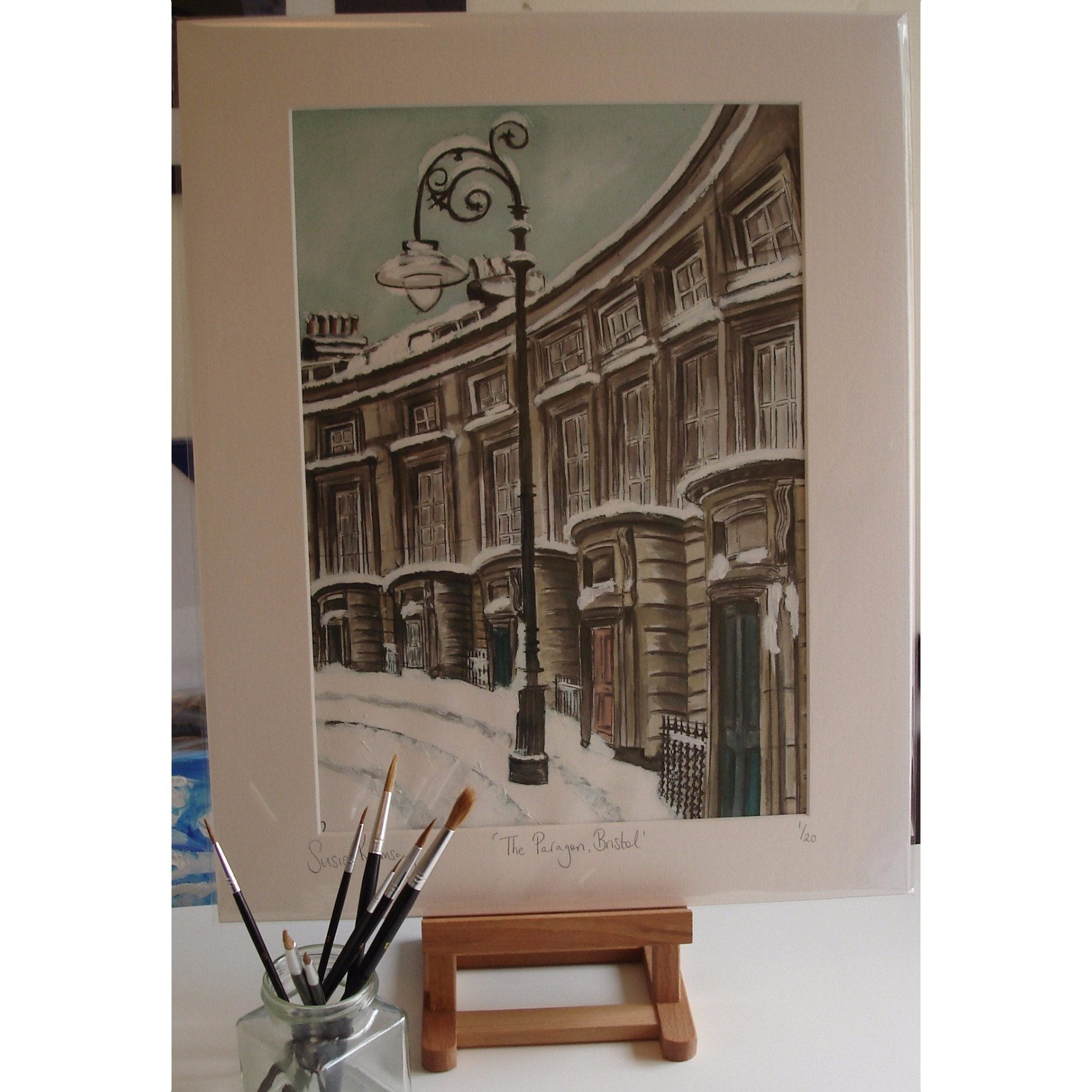 The Paragon Limited Edition Giclée Print by Susie Ramsay | The Bristol Shop