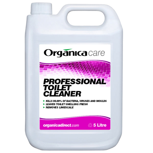 Professional Toilet Cleaner 2 X 5lt Organica Direct