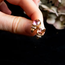 Load image into Gallery viewer, Vintage Mystic Topaz Diamond Stud Earrings to buy online