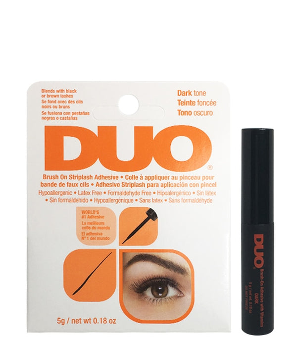 Duo  Eyelash Adhesive Dark Brush-On