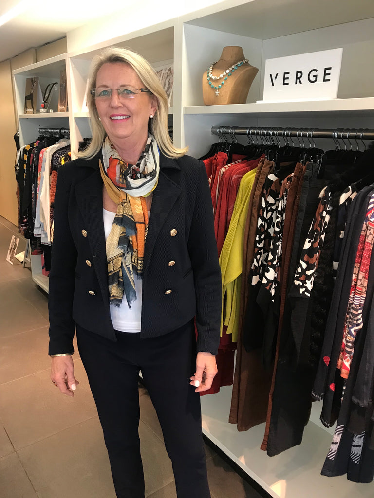 Michelle shows us the versatile Signature Jacket
