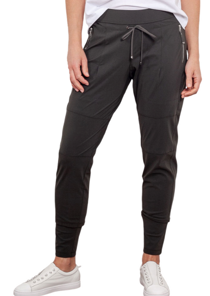 Raffaello Rossi Charcoal Candy Pant