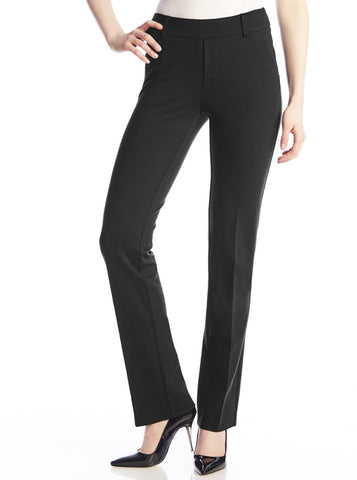 Up! Pants Black Classic Pant waistband tummy control 66457