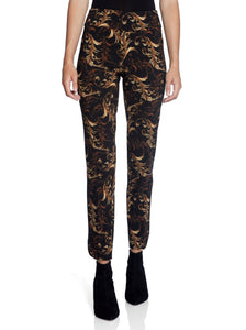"Up! Valentino Petal Slit Pants 28""  67027"
