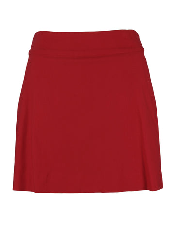 Red Skort by Up! Pants 70459 Online stockist Signature of Double Bay
